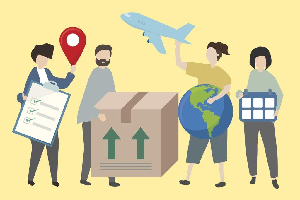 paczki krajowe i międzynarodowe